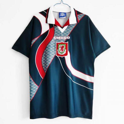 Retro Wales Away Football Shirt 94