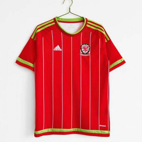 Retro Wales Home Football Shirt 2015