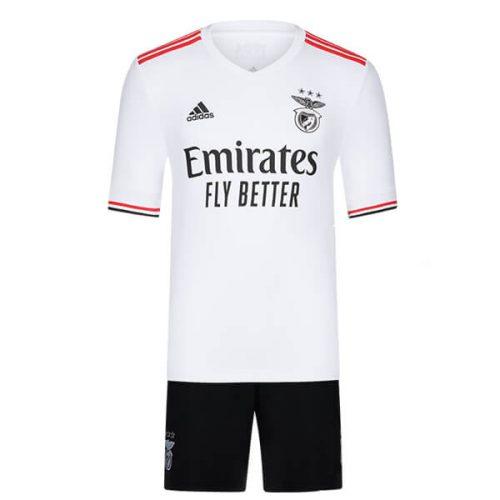 Benfica Away Kids Football Kit 21 22