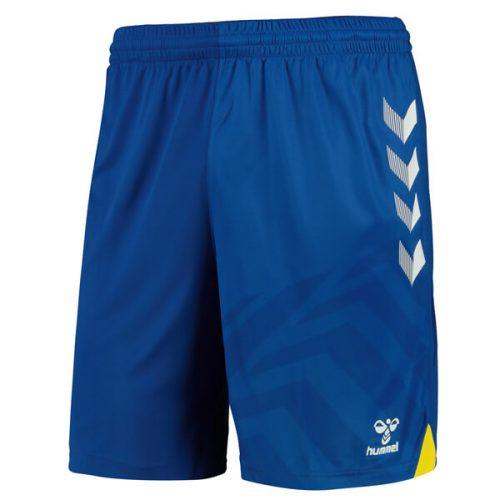 Everton Home Football Shorts 2122 - Blue