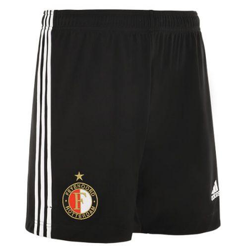 Feyenoord Home Football Shorts 21 22