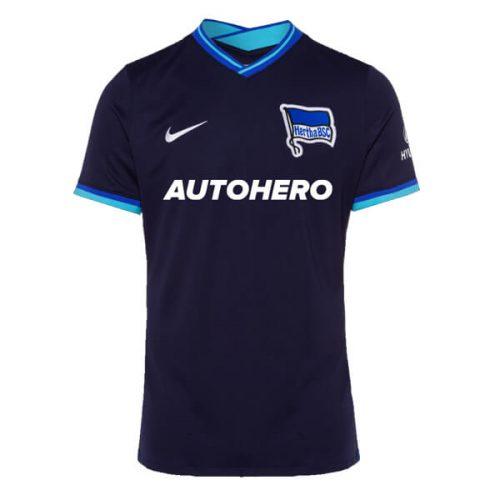 Hertha Berlin Away Football Shirt 21 22