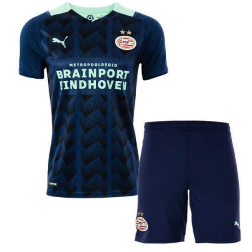 PSV Eindhoven Away Kids Football Kit 21 22