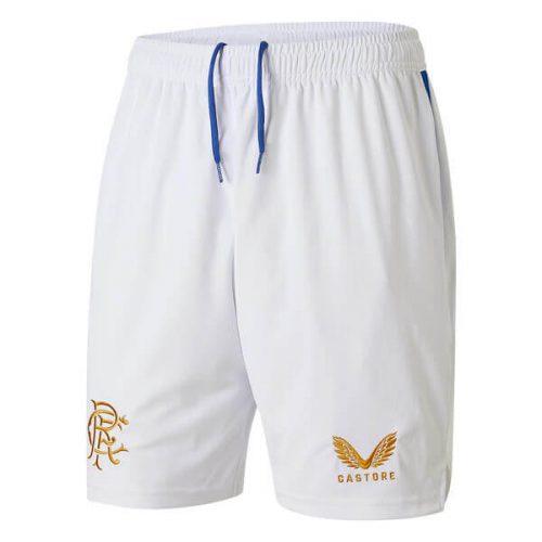 Rangers Home Football Shorts 21 22