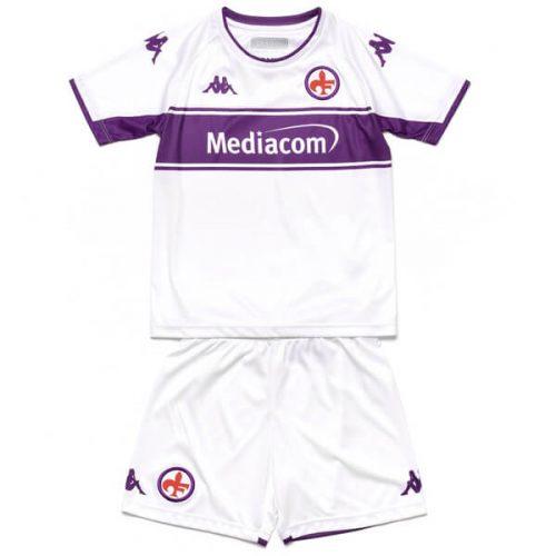 Fiorentina Away Kids Football Kit 21 22
