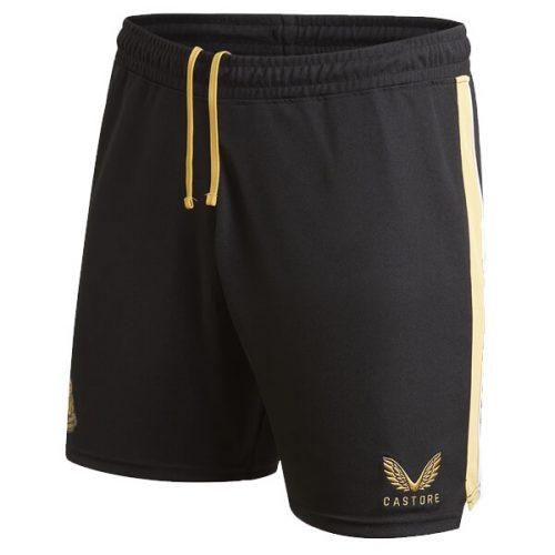 Newcastle United Away Football Shorts 21 22