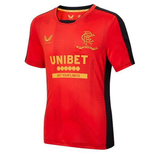 Rangers Pre Match Training Football Shirt