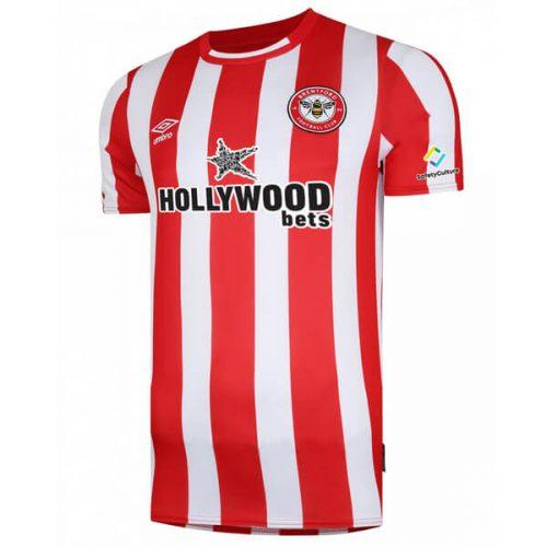 Brentford Home Football Shirt 21 22