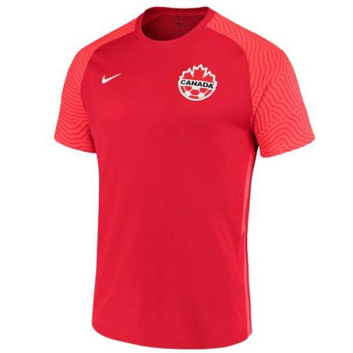 Canada Home Football Shirt 2021