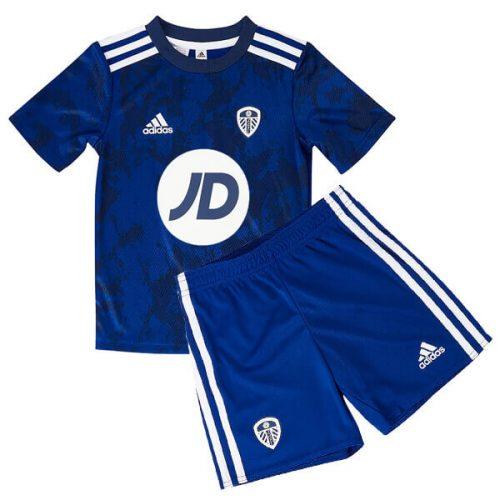 Leeds United Away JD Kids Football Kit 21 22